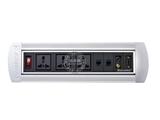 品牌:奥盛 Aosens 名称:手动翻转桌面插座 多媒体台面插座 型号:AS-ZH-406