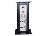 品牌:奥盛 Aosens&#10名称:桌面插座 直拔升降桌插&#10型号:AS-ZF-009A