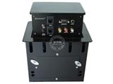 品牌:奥盛 Aosens&#10名称:桌面插座 四面升降桌插&#10型号:AS-ZF-404