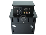 品牌:奥盛 Aosens&#10名称:桌面插座 三面升降桌插 黑色&#10型号:AS-ZF-403黑