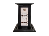 品牌:奥盛 Aosens&#10名称:桌面插座 直拔升降桌插&#10型号:AS-ZF-008