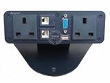品牌:奥盛 Aosens&#10名称:桌面插座 多功能信息盒&#10型号:AS-ZF-0013
