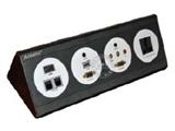 品牌:奥盛 Aosens 名称:酒店多媒体面板桌面插座 型号:AS-ZJ-F104