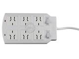 品牌:可来博 Clamber&#10名称:网络专用二开六位插座 2米&#10型号:STY-1-26/2000.2m