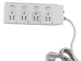 品牌:可来博 Clamber&#10名称:万用四开四位带分位指示灯 3米 &#10型号:STY-1-44 .3M