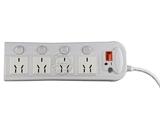 品牌:可来博 Clamber&#10名称:电子过流过压保护4开四位 3米&#10型号:STY-1-44G/2000 3M