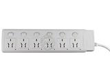 品牌:可来博 Clamber&#10名称:万用六开六位带指示灯 10米&#10型号:STY-1-66.10M