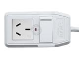 品牌:可来博 Clamber&#10名称:大功率16A一位一开插座 2米&#10型号:STY-1-112P.2M
