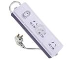 品牌:公牛 BULL&#10名称:插座 总控3联1.8米万用插座&#10型号:GN-E13