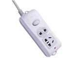 品牌:公牛 BULL 名称:插座 总控2联2米插座 型号:GN-B09