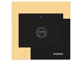 品牌:品上 POSO&#10名称:一位单控LED指示轻点开关&#10型号:AF/31/1Y/L/A