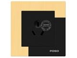 品牌:品上 POSO 名称:10A三扁插座 型号:AF/426/10S/A