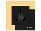 品牌:品上 POSO 名称:20A三扁插座 型号:AF/426/20S/A