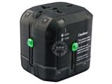品牌:奥盛 Aosens&#10名称:全球通转换插头/旅行转换器 8A 防雷保护&#10型号:AS-CQ-F03