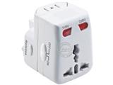 品牌:奥盛 Aosens&#10名称:全球通转换插头/旅行转换器 (带灯,过载保护) 6A&#10型号:AS-CQ-B02