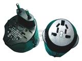 品牌:奥盛 Aosens&#10名称:全球通转换插头/旅行转换器 过载保护 3A&#10型号:AS-CQ-A07