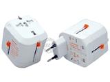 品牌:奥盛 Aosens&#10名称:全球通转换插头/旅行转换器  3A&#10型号:AS-CQ-A05