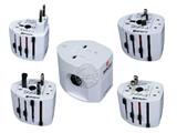 品牌:奥盛 Aosens&#10名称:全球通转换插头 旅行转换器 110~250V 6A&#10型号:AS-CQ-A03
