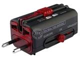 品牌:奥盛 Aosens&#10名称:全球通转换插头/旅行转换器 防雷击 6A(带指示灯,过载保护)&#10型号:AS-CQ-F04