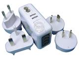 品牌:奥盛 Aosens&#10名称:全球通4USB转换插头 旅行转换器 &#10型号:AS-CU-401