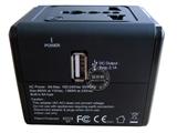 品牌:奥盛 Aosens 名称:全球通单USB转换插头 旅行转换器  磨砂工艺 (USB DC 5V 2100mA) 型号:AS-CU-108