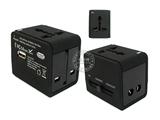 品牌:奥盛 Aosens 名称:全球通单USB转换插头(USB DC 5V 500mA) 旅行转换器  磨砂工艺 型号:AS-CU-104