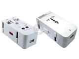 品牌:奥盛 Aosens&#10名称:全球通单USB转换插头 旅行转换器 (USB DC 5V 500mA)&#10型号:AS-CU-112