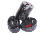 品牌:奥盛 Aosens&#10名称:全球通单USB转换插头 旅行转换器 1000MA 5V 带指示灯&#10型号:AS-CU-114
