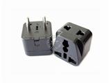 品牌:奥盛 Aosens 名称:单一欧式万用旅行转换插头 旅行转换器 (插脚直径:Φ 4.0 mm)  型号:AS-CY-WDI9A