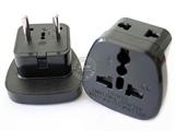 品牌:奥盛 Aosens 名称:单一欧标旅行转换插头 旅行转换器 型号:AS-CY-SSI9A