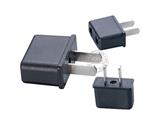 品牌:奥盛 Aosens&#10名称:双扁旅行转换插头 旅行转换器&#10型号:AS-CY-X9621
