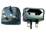 品牌:奥盛 Aosens&#10名称:欧式转换英式旅行转换插头 旅行转换器&#10型号:AS-CY-EU5732