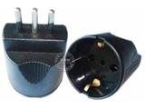 品牌:奥盛 Aosens&#10名称:瑞士转欧式旅行转换插头 旅行转换器&#10型号:AS-CY-X16AG