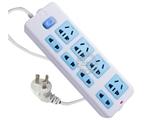 品牌:公牛 BULL&#10名称:插座 总控8联3米万用插座&#10型号:GN-403