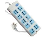 品牌:公牛 BULL 名称:插座 总控双排10联3米插座 型号:GN-110