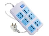 品牌:公牛 BULL&#10名称:插座 总控6联无线万用插座&#10型号:GN-109K