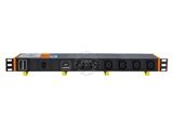 品牌:奥盛 Aosens&#10名称:IEC-C13插孔 6位PDU机柜插座&#10型号:AS-1UB-C6F/I