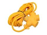 品牌:国产 Guochan&#10名称:正品南迅  带线防爆地拖插座 电磁炉 大功率专用16A 2500瓦 4.4米&#10型号:NX-911 带线4.4米