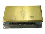 品牌:正旦 Zhengdan 名称:双联开启式DCK-245F系列地面插座 型号:DCK-245F