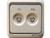 西蒙电视调频插座60486-50