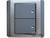 施耐德奇胜10A 带LED指示横式大按板双联单控开关(灰+银)