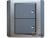 施耐德奇胜10A 带LED指示横式大按板双联双控开关(灰+银)