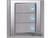 施耐德奇胜10A 带LED指示横式大按板三联单控开关(灰+银)