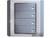 施耐德奇胜10A 带LED指示横式大按板四联单控开关(灰+银)