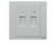 施耐德奇胜带保护门电话/超五类信息插座FB32TS+RJ5E